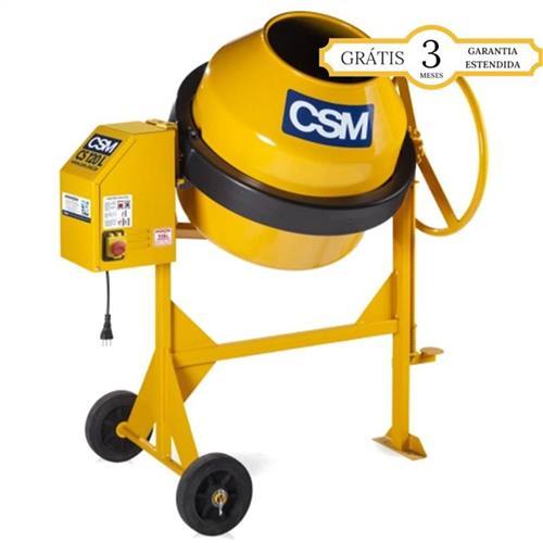 Betoneira Csm Cs 120 Litros 1/3 Cv Monofásica 110V - 20100043002