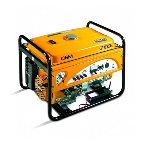 Gerador De Energia A Gasolina Portátil Csm 8.5 Kva 15 Hp Com Partida Elétrica 4 Tempos Trifásico Gt 8000E 220V
