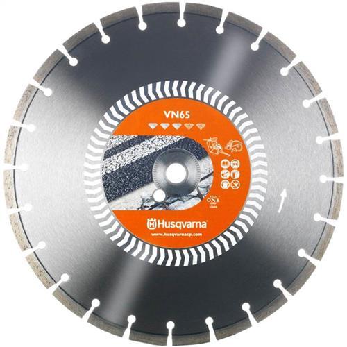 Disco Diamantado 450Mm Husqvarna Vn65 D450 Para Cortadora De Paviamento - 7391883226513