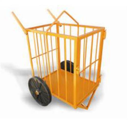 Carrinho Para Transporte Tipo Gaiola Maqtron Capacidade De 200 Kg