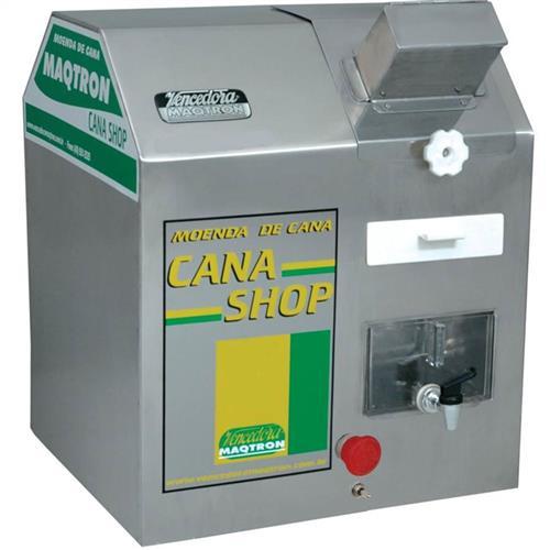 Moenda De Cana Maqtron Cana Shop 60 Hobby Elétrica 1/2 Cv Inox 110V