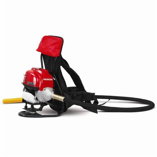 Motor Para Vibrador De Concreto Costal Menegotti Mvp Motor Honda Gx 35 Gasolina 1.5 Hp Com Mangote Com Ponteira 38Mm X 2,5 Metros