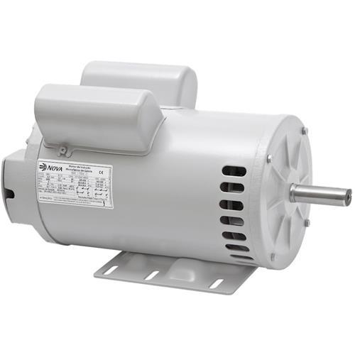 Motor Elétrico Monofásica Nova Motores Ip-21 De 3 Cv 4 Pólos 110/220V - 20300184019