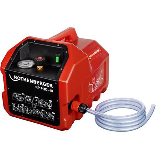 Bomba De Teste Hidrostático Elétrica Rothenberger Rp Pro Iii Até 40 Bar De Pressão Monofásica 220V