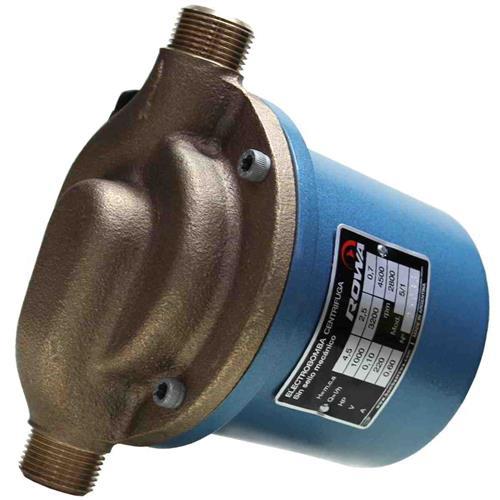 Eletrobomba Sanitária Rowa 5/1S 0,10 Hp 220V Monofásica Em Bronze