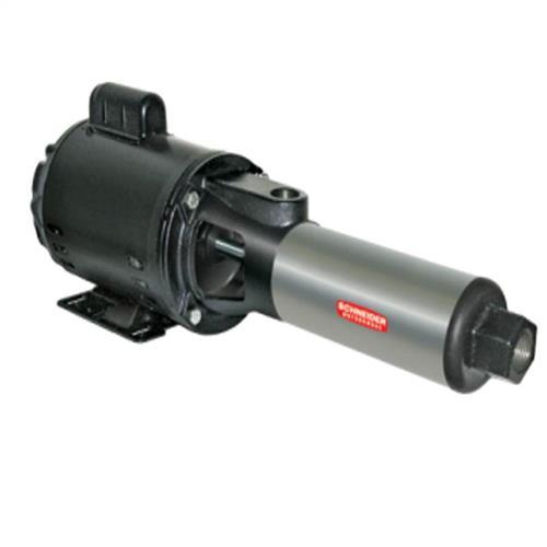 Bomba Centrífuga Multi Estágio Schneider Bt4-0507E9 3/4 Cv Monofásica 127/220V De Aço Inox Com Capacitor