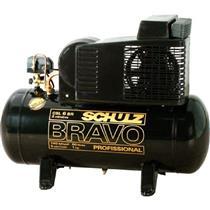 Compressor Schulz Bravo Csl 6Br/60L 110V Monofásico