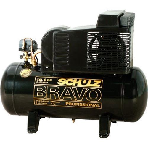 Compressor Schulz Bravo Csl 6Br/60L 220/380V Trifásico
