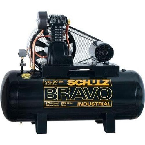 Compressor Schulz Csl Bravo 20Br/200L