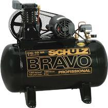 Compressor Schulz Bravo Csl 10Br/100L 110/220V Monofásico
