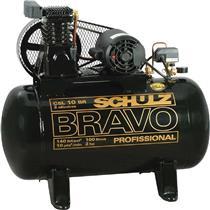 Compressor Schulz Bravo Csl 10Br/100L 220/380V Trifásico