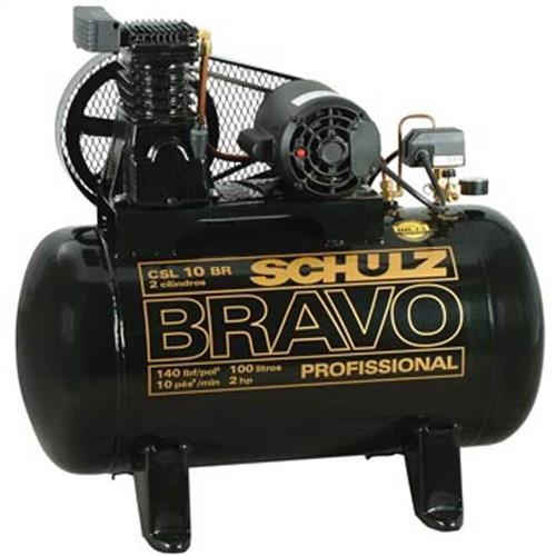 Compressor Schulz Bravo Csl 6Br/100L 220/380 Trifásico