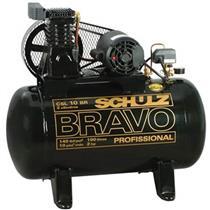 Compressor Schulz Bravo Csl 6Br/100L 220V Monofásico