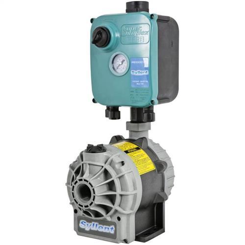 Bomba Para Pressurização Com Pressostato Externo Syllent Aqquant Mb71e0003as/Pr 1 Cv 60 Hz Monofásica 220V