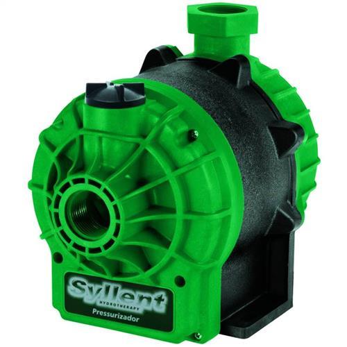 Bomba Para Pressurização Com Fluxostato Interno Syllent Aqquant Mb63e0024a 1/3 Cv 60 Hz Monofásica 220V
