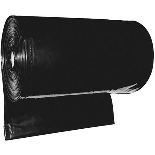 Lona Plástica Preta Para Construção 4M X 100M X 90Micras | 13 Kg