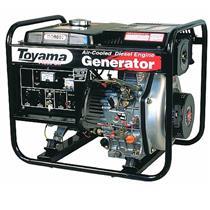 Gerador De Energia 3.3 Kva A Diesel 2 Polos Part. Elétrica Avr Td4000cx(E) Toyama Mono. 110/220V