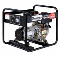 Gerador De Energia 2.2 Kva A Diesel Td2500cs Toyama Monofásico 110V E 220V