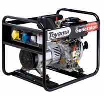 Gerador De Energia 3.3 Kva A Diesel 4 Tempos Td4000cs Toyama Monofásico 110V E 220V