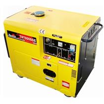 Gerador De Energia 6.0 Kva A Diesel Part. Elétrica Avr Td7000sge Toyama Mono. 110V E 220V