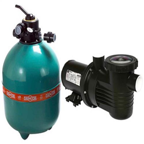 Conjunto Filtro Bomba E Areia Para Piscina Dancor Dfr-19 Com Bomba De 1/2 Cv Monofásica 110/220V - 20120058001