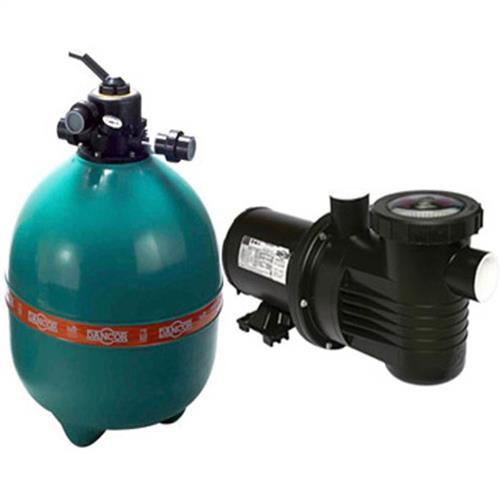 Conjunto Filtro Bomba E Areia Para Piscina Dancor Dfr-22 Com Bomba De 3/4 Cv Monofásica 110/220V - 20120058002