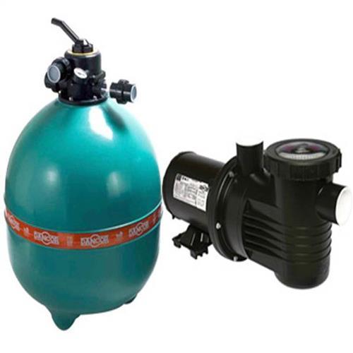 Conjunto Filtro Bomba E Areia Para Piscina Dancor Dfr-24 Com Bomba De 1 Cv Monofásica 110/220V - 20120058003