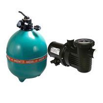 Conjunto Filtro Bomba E Areia Para Piscina Dancor Dfr-30 Com Bomba De 1.5 Cv Trifásica 220/380V - 20120058008