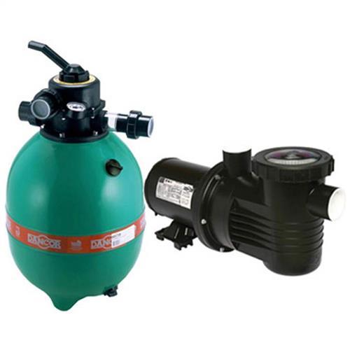 Conjunto Filtro Bomba E Areia Para Piscina Dancor Dfr-15 Com Bomba De 1/3 Cv Monofásica 110/220V - 20120058024