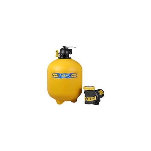 Conjunto Filtro Bomba E Areia Para Piscina Jacuzzi 26Tp Com Bomba 1A 1 Cv Trifásica 220/380V - 20400056007