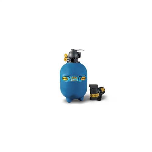 Conjunto Filtro Bomba E Areia Para Piscina Jacuzzi 22Tp Com Bomba 7A 3/4 Cv Monofásica 110/220V