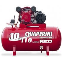 Compressor De Ar Chiaperini De Media Pressao 10 110 Red 110L Monofasico