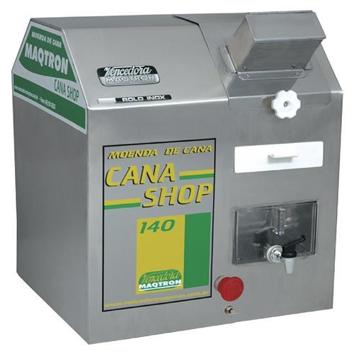 Moenda De Cana Maqtron Cana Shop 140 Eletrica Inox 220V