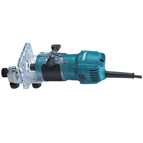 Tupia Makita 3709 6Mm C/Base Articuladora 220V