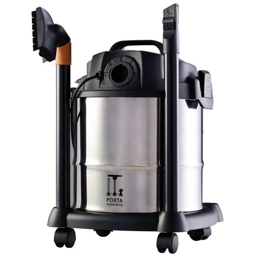 Aspirador De Agua E Po Wap Gtw 1400W Inox 12 Monofasico 220V