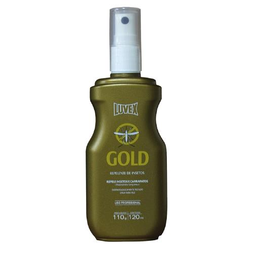 Repelente Luvex Gold 7 Horas Spray 120Ml Icaridina Contra Zika Vírus, Dengue E Carrapatos