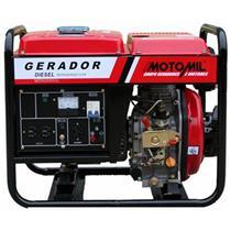 Gerador De Energia A Diesel Motomil Mdgt-6500Cle 6,5Kva Trifásico 220V
