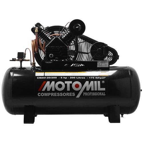 Compressor Motomil Cmv-20/200 175Lbs Sem Motor