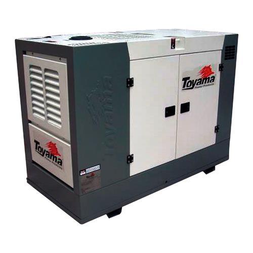 Gerador De Energia Toyama Tdmg25sse3 38Cv 27,5Kva Trifásico 220V À Diesel Com Partida Elétrica