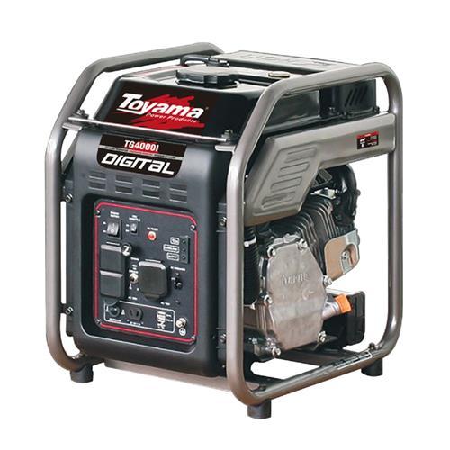 Gerador De Energia Digital Toyama Tg4000ip 7Hp 4Kva Monofásico 127V À Gasolina