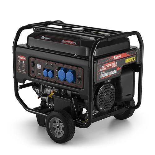 Gerador De Energia Toyama Tg12000cxn3e 20,0Hp 13,1Kva Trifásico 380V À Gasolina