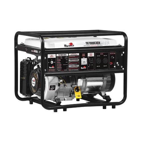 Gerador De Energia Portátil Toyama Tg7000cxeh 15,0Hp 6600Kv Monofásico 115/230V À Gasolina
