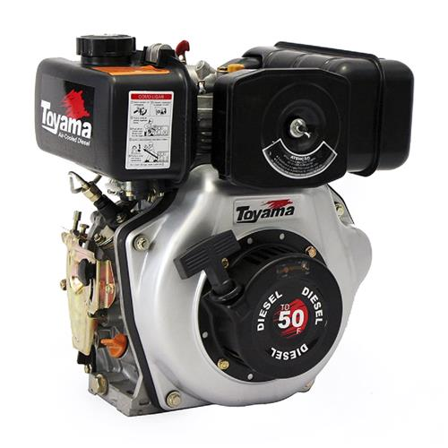 Motor Toyama Td50fs 4,7Hp 211Cc À Diesel Eixo Com Redução