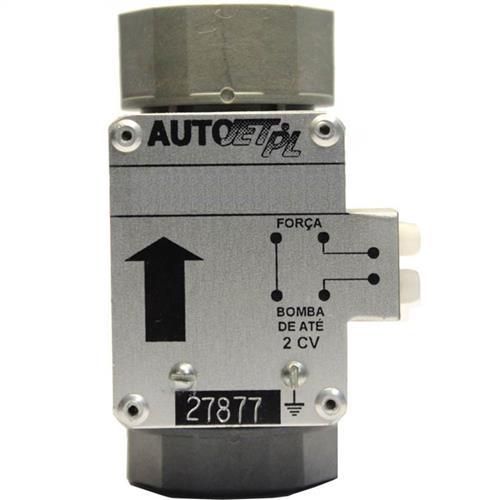 Fluxostato Autojet Pl Para Acionamento De Bomba De Até 2 Cv Em Nylon Estruturado E Cobre - Vertical 20060111003