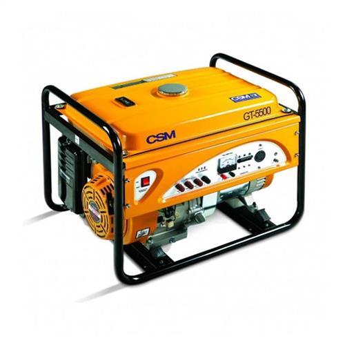 Gerador De Energia A Gasolina Portátil Csm 5.5 Kva 11 Hp 4 Tempos Trifásico Gt 5500 220V