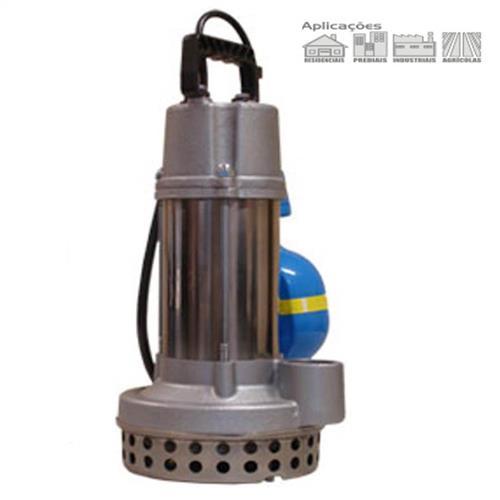 Bomba Submersível Para Drenagem E Esgotamento Dancor Ds-9M 1/2 Cv Trifásico 220V Com Bóia De Nível