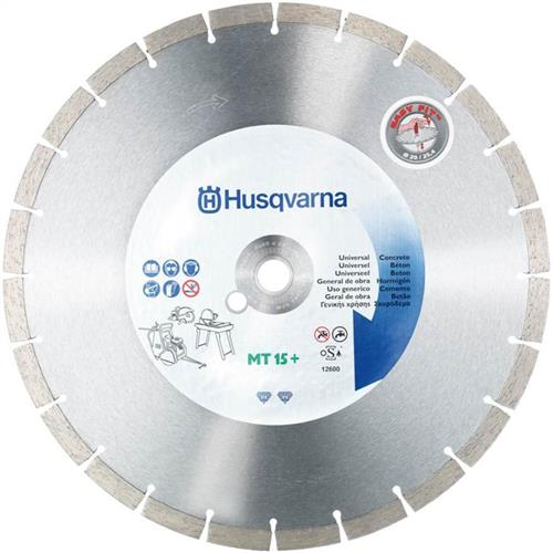 Disco Diamantado 350Mm Husqvarna Mt15 Eco D350 Para Cortadora Manual 7393080486011