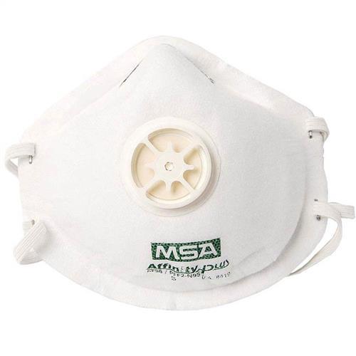 Respirador Facial M.S.A. Affinity Plus Pff1 C/Válvula
