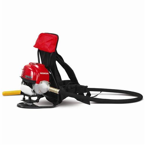 Motor Para Vibrador De Concreto Costal Menegotti Mvp Motor Honda Gx 35 Gasolina 1.5 Hp Com Mangote Com Ponteira 32Mm X 2,5 Metros