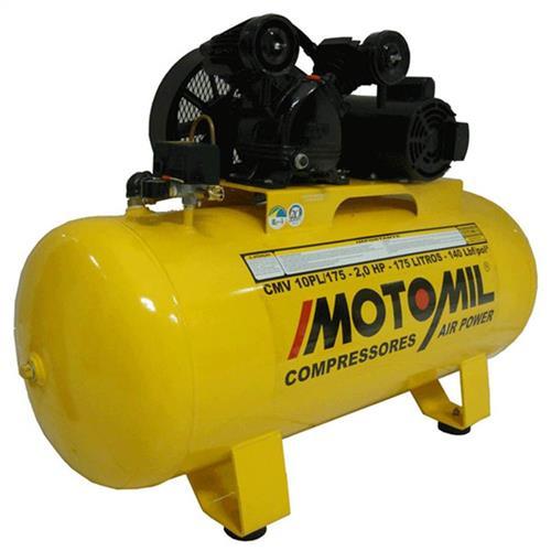 Compressor Linha Profissional Leve Motomil Cmv 10Pl/100 Monofásica 110/220V 2Hp - 20280126004